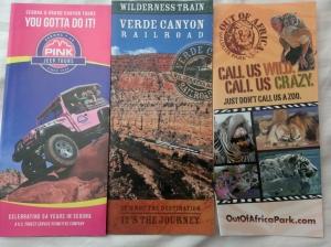 Sedona brochures