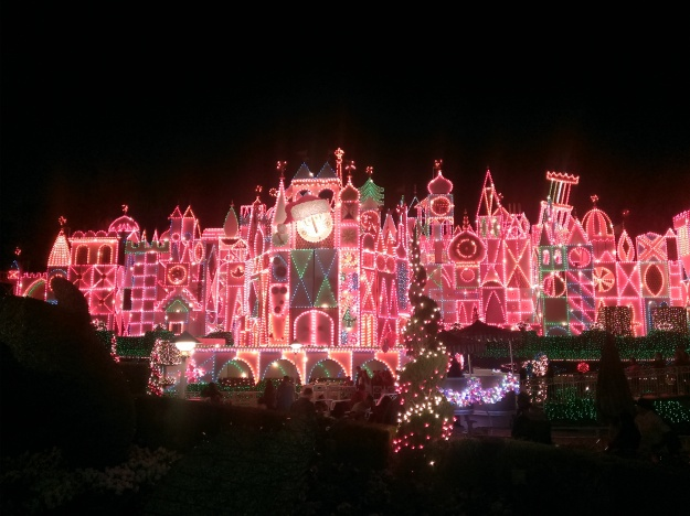 It's a Small World is always lovely, but coated in colored lights, it's extraordinary!