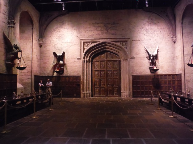 Inside Hogwarts' Great Hall at Warner Bros. Studios