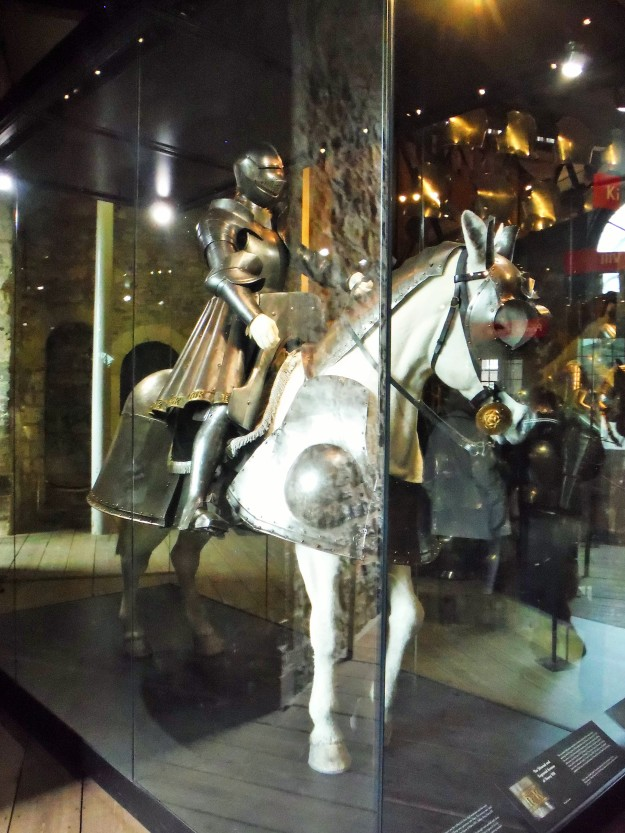 One of several sets of armor worn by King Henry VIII.