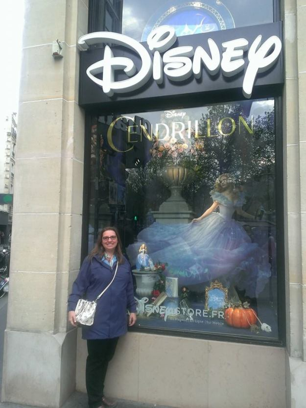 I had to do a little shopping on Champs Elysees and being the Disney fan that I am, the Disney Store was a definite stop!