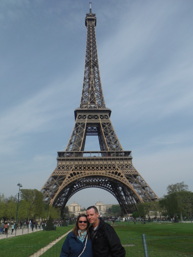 We, of course, had to start our day at the iconic Eiffel Tower.