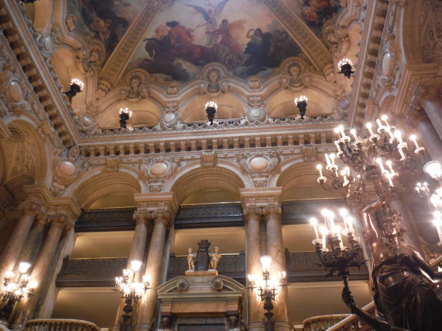 The interior of Palais Garnier is as opulent as any palace.