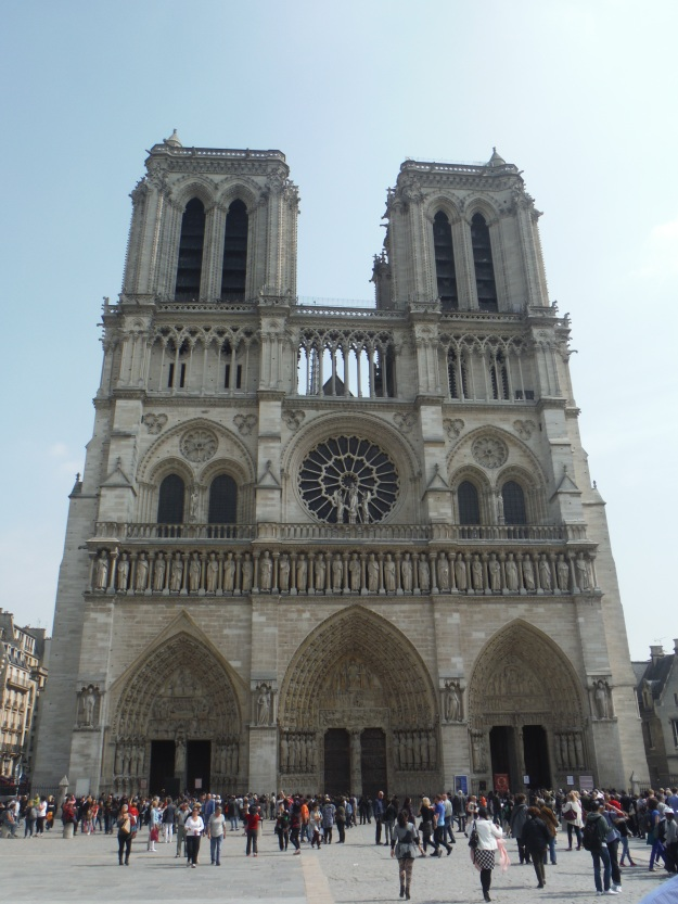 A trip to Paris wouldn't be complete without a visit to Notre Dame.