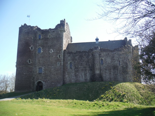 I simply had to make a stop at Doune Castle. If it looks familiar, it's because it has been a filming location for everything from Monty Python and the Holy Grail to Outlander to Game of Thrones.