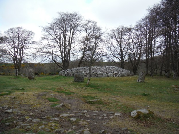 We started our second day at Clava Cairns. Everyone knows of Stonehenge, but the UK is actually covered in these stone circles. At this one, visitors are able to get close to the stones even entering the circles.