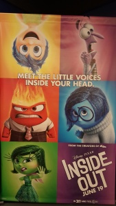 Joy, Sadness, Anger, Disgust, Fear - What Were My Feelings on #InsideOut?