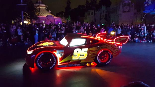 Lightning McQueen was impressive...