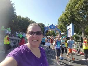 10th Anniversary Disneyland Half Marathon Weekend Recap - The Finish Line!