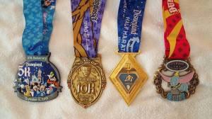 Disneyland Half Marathon Weekend Recap - How I Earned This Bling