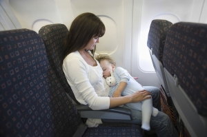 Tips for Air Travel with a Lap Child