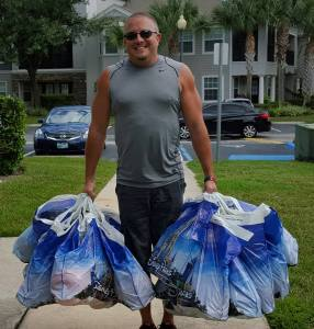 Want something after you got home? Pixie Dust Delivery Service will do the shopping for you. Pictured is my friend Tony, one of the owners of Pixie Dust Delivery Service. Photo courtesy of Pixie Dust Delivery Service.