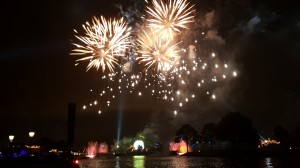 Want sparks on your date night? Try an Illuminations Cruise at Walt Disney World.
