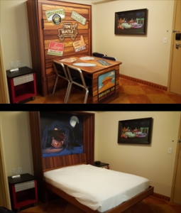 Check Out the Murphy Bed and More at Disney's Art of Animation Resort