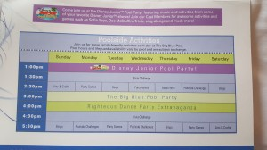 Info from a Stay at Disney's Art of Animation Resort