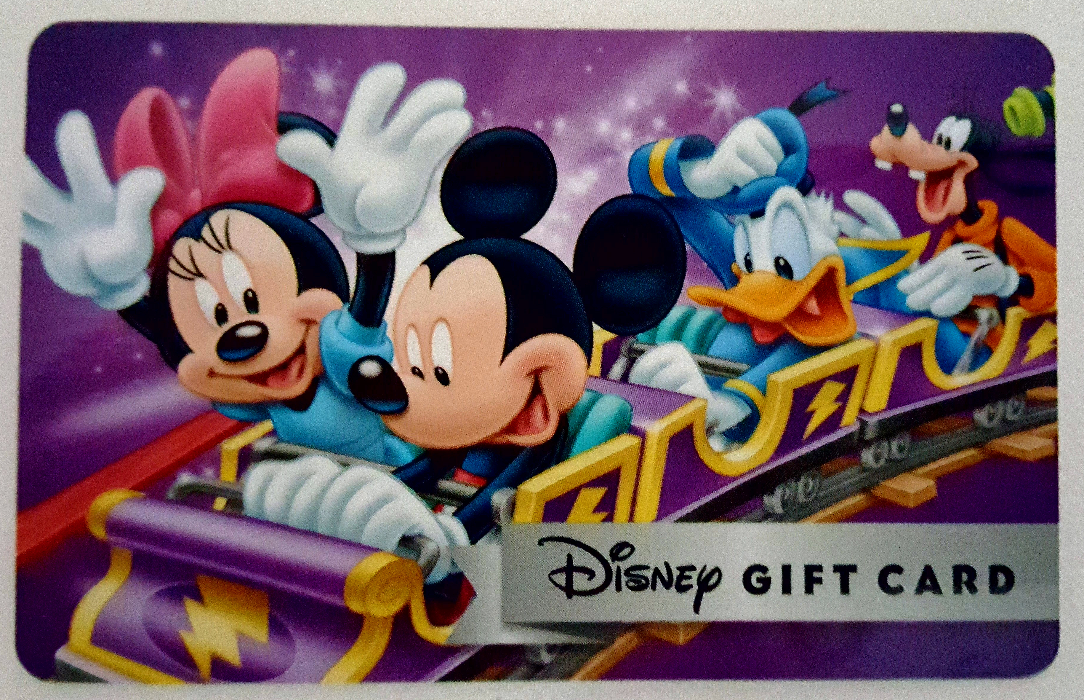 Using Disney Gift Cards to Save for a Disney Vacation | Magical ...