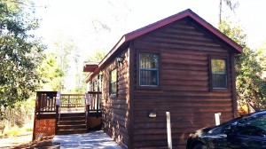 One of The Cabins at Disney's Fort Wilderness Resort