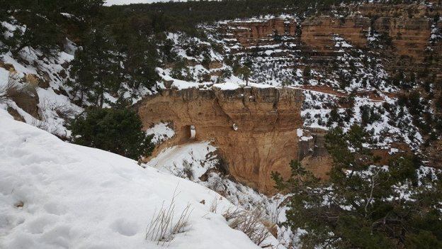 It Snows at the Grand Canyon - Pros and Cons for a Winter Visit to this Natural Wonder