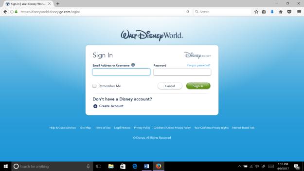 Walt Disney World Planning - Setting Up My Disney Experience